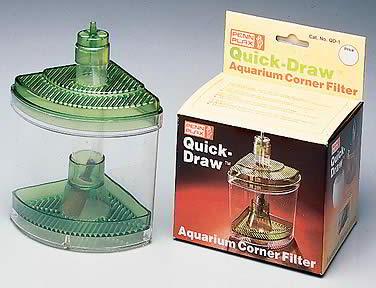 Choisir un filtre pour aquarium le filtre angulaire for Pompe aquarium poisson rouge